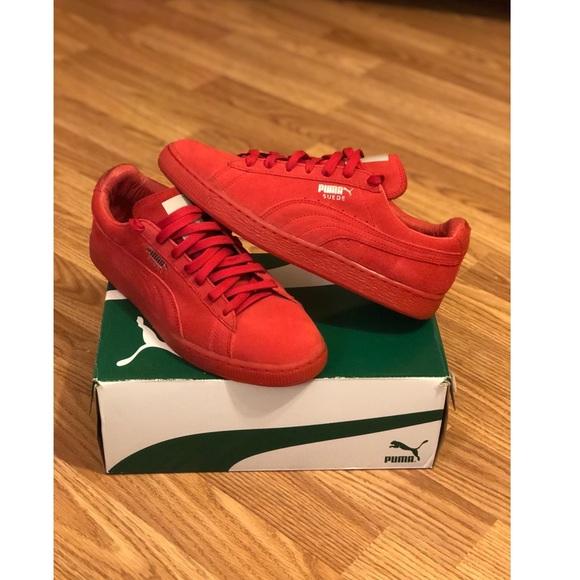 022e1d26b9f7 Puma Shoes - Red pumas for women